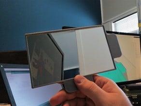 Mirror bezel/handle