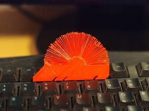 Hedgehog with spikes (furry)