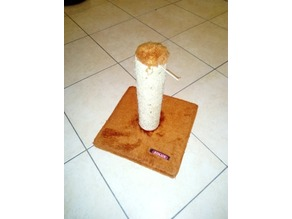 """Zolux"" Cat Scratching Post Base"
