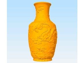 Vase of Dragon Pattern