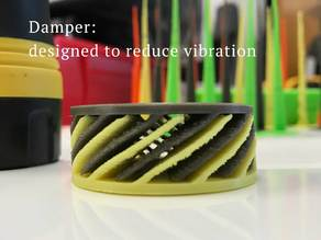 Damper for 3D printer