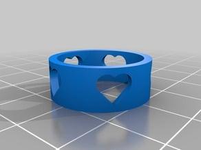 Customizable Heart Ring