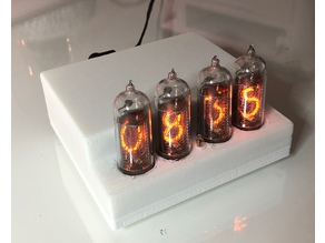 GPS Nixie Clock enclosure (from Elektor Nov 2014)