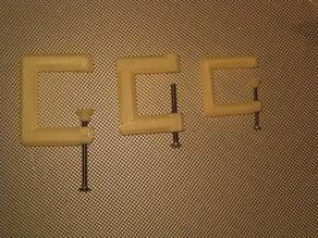 Parametric C-clamp