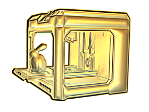 Makerbot-Replicator-relief
