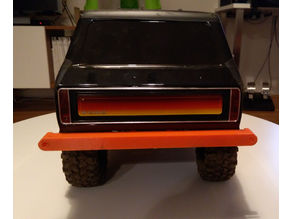 TRX-4 Bronco rear bumper with GoPro mount