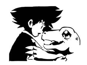 Digimon stencil