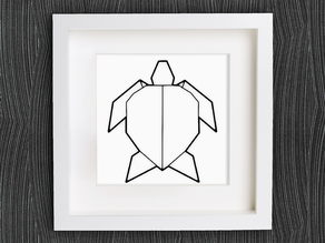 Customizable Origami Turtle
