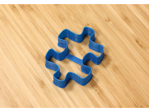 Jigsaw Puzzle Piece Cookie Cutter