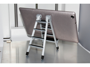 Two color phone holder ladder.