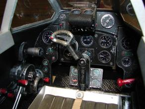 DH100 Vampire Cockpit