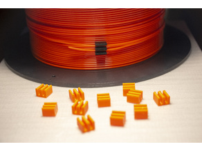 1.75mm Filament Clip - Universal (styled after 3D Solutech filament clips)