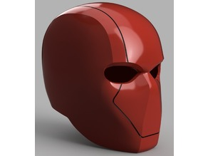 Red Hood Helmet (Batman) with Details