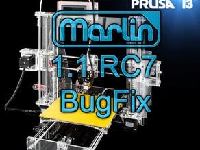 Marlin 1.1.2 RC8 BugFix Branch May 2017 for Sunhokey Prusa i3