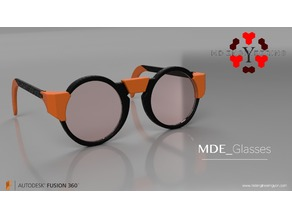 MDE Flat Eyeglasses kit