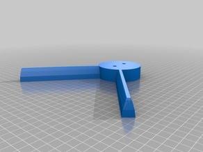 Digital Sundial Base with legs