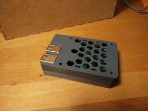 Raspberry Pi 3 B Case for shorter screws