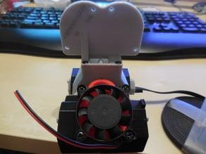 Anet A6 - Frankenstein double 50mm radial fan adapter
