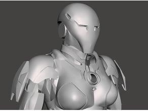 Pepper Potts Rescue Armour Revision 2