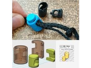 Cord lock  繩帶索