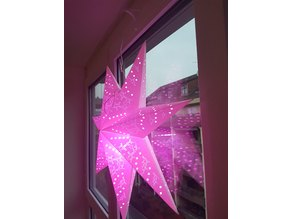 Christmas Star Mount for Window