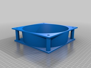 My Customized Various fan size conversion adapters Cowling
