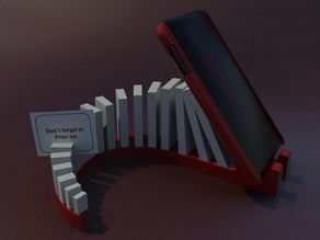 Dominoes smartphone holder