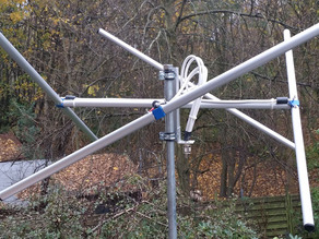 2 Meters Lindenblad Antenna