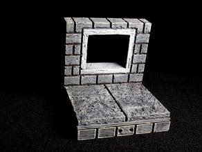 OpenForge 2.0 Cut Stone Square Window