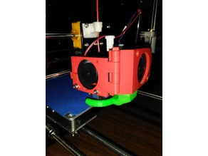 Anet A8 Extruder Fan Hinge