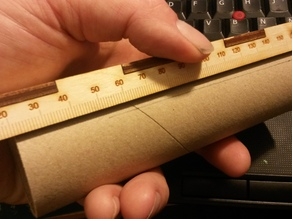 Lasercut Rocketry Ruler