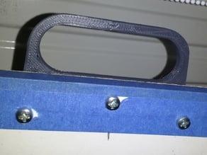 Carry handle for v-plotter/polargraph