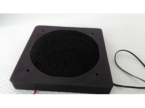 Enclosure air filtration (Carbon air purifier filter)