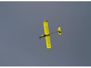 """Euphoria"" 3d printed plane"