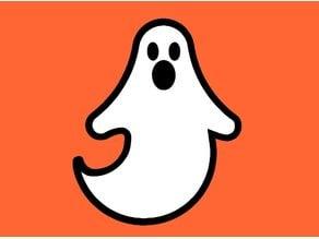 Ghost Fridge Magnet - Halloween