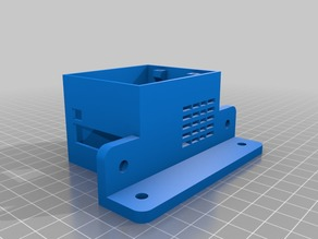 Heat Bed Mosfet Box with 2020 mounting