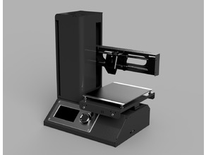 Monoprice Select Mini V2 Fusion 360 CAD Model