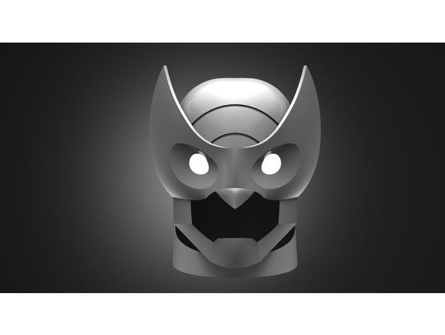 Owlman Helmet By Sentinelprops Thingiverse