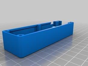 WeMos 18650 battery shield box w/modified Lid