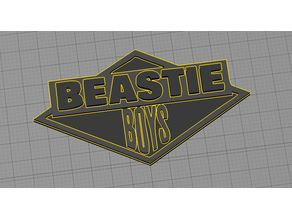 Beastie Boys - License To Ill - Keychain