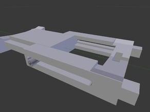 adjustable center for Printrbot Spool Coaster