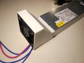 HP DPS-700GB 80mm fan shroud