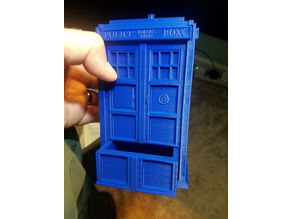Tardis Pencil Holder with Drawer