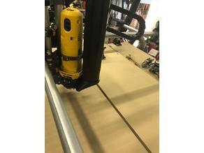 """MPCNC DW660 Magnetic Dust Shoe for 2.5"""" Vacuum Extension"""