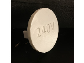 240 Volt Outlet Safety Cover