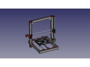 AM8 MK3 - Prusa i3 MK3 Version Clone - Metal Frame for Anet A8