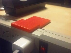 Surge Protector Desk Bracket