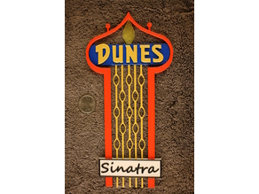 Dunes Casino Sign - Las Vegas