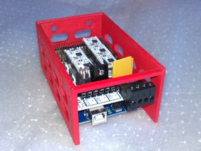 Mendel Mounting cradle for Ramps1.4 plus Arduino
