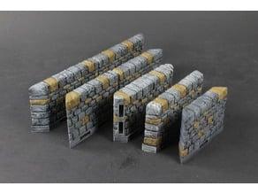 OpenLOCK Dungeon Stone Angled Walls